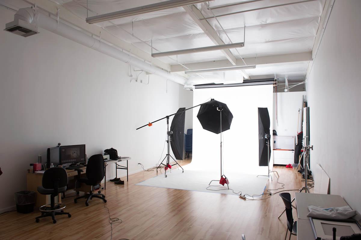 Studio 52 setup for a photo shoot. Photography studio dublin pleasanton san ramon