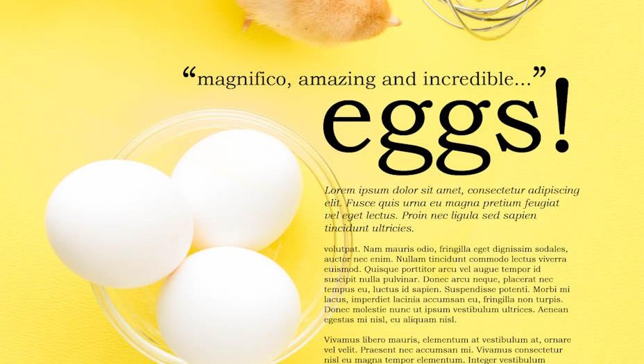 Eggs - Make it fun!