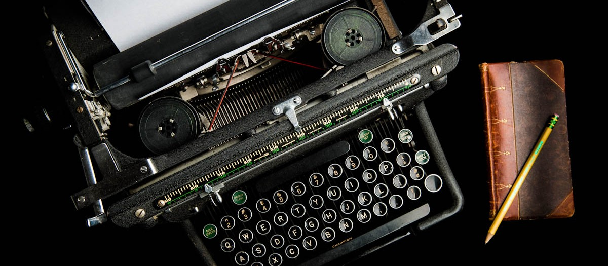 Typewriter - old school writing instrument