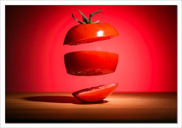 Exploded tomatoe
